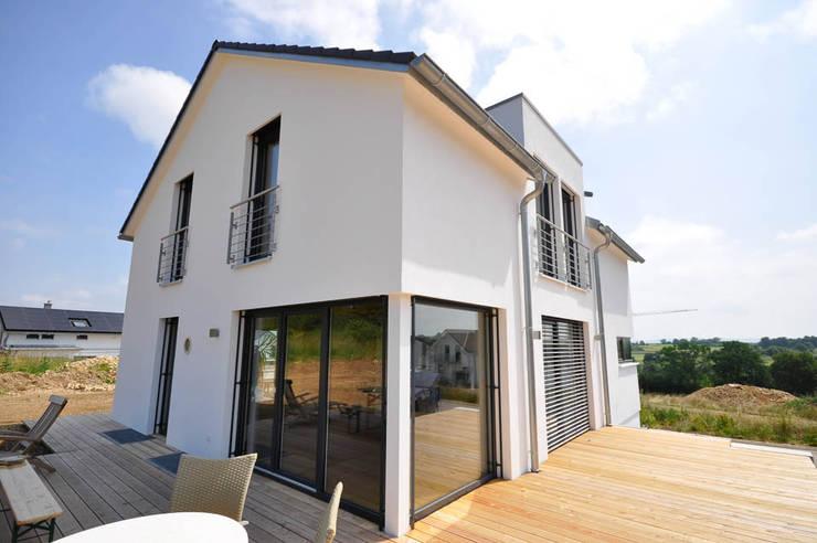 Casas modernas por Hauptvogel & Schütt Planungsgruppe