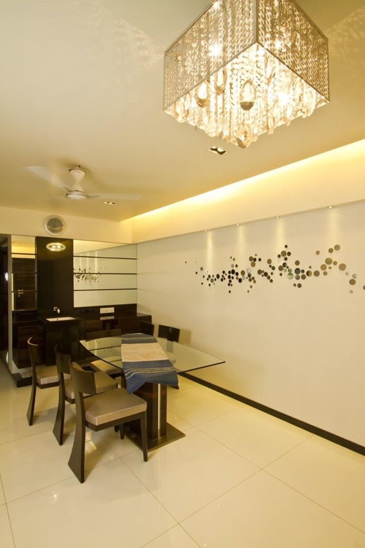 Residential project:  Dining room by Kunal & Associates,Modern