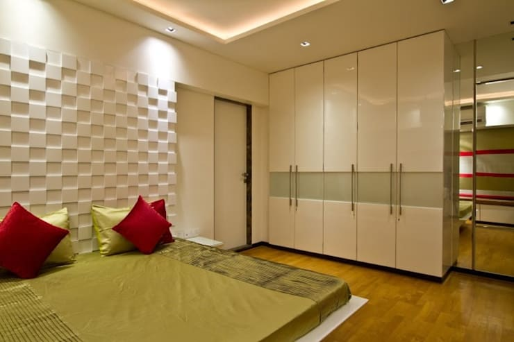 Residential project:  Bedroom by Kunal & Associates,Modern