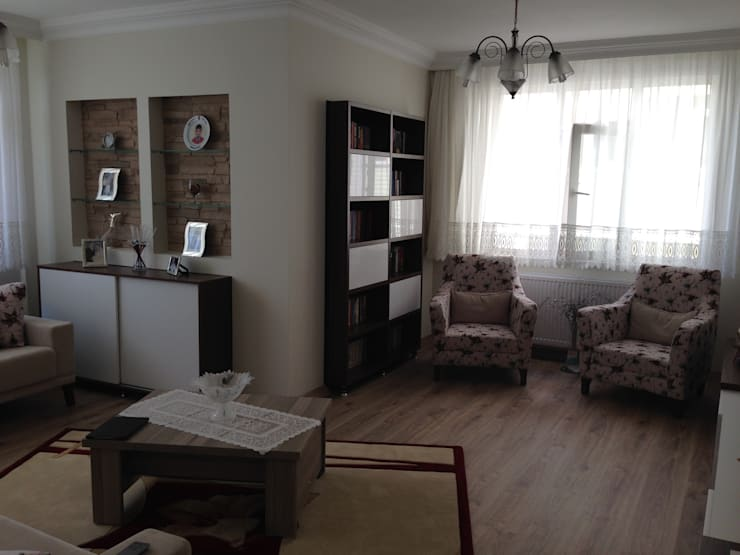 Paisajismo de interiores de estilo  por Vizyon Mimarlık ve Dekorasyon