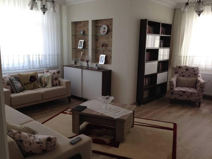 Vizyon Mimarlık ve Dekorasyon – B&T.Ş Evi ( Edirne ):  tarz İç Dekorasyon