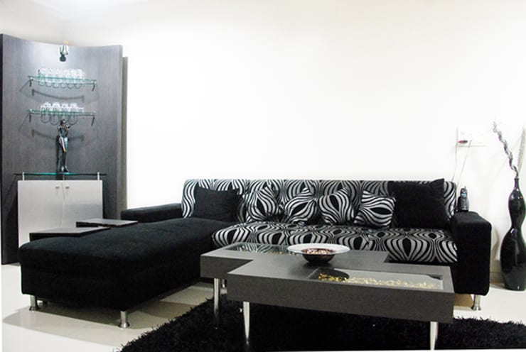 Subtle Harmony: modern Living room by Sneha Samtani I Interior Design.