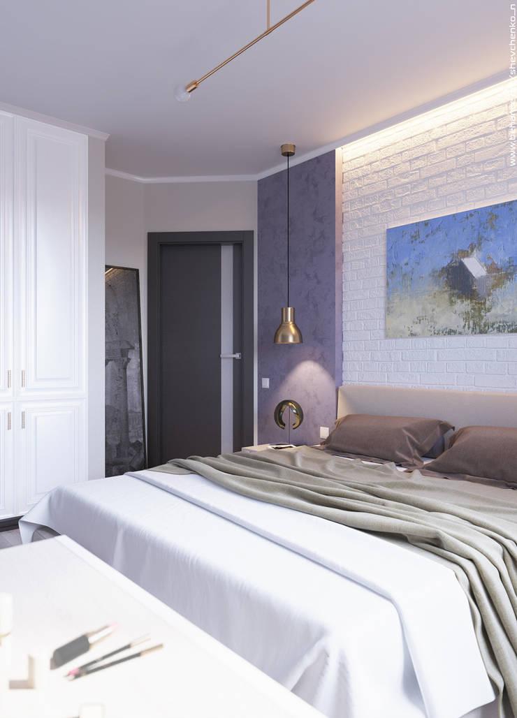 Bedroom: Спальни в . Автор – Shevchenko_Nikolay,