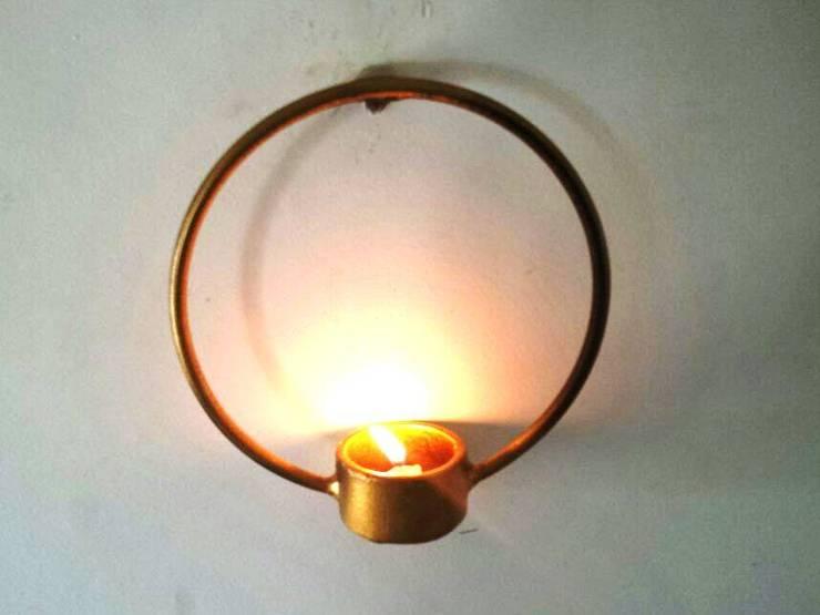 Tea Lights:  Artwork by Designmint