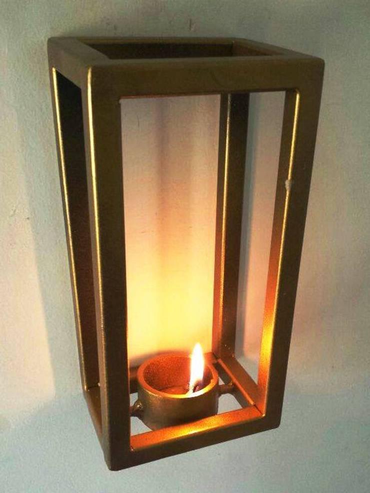 Cube Tea Light:  Artwork by Designmint
