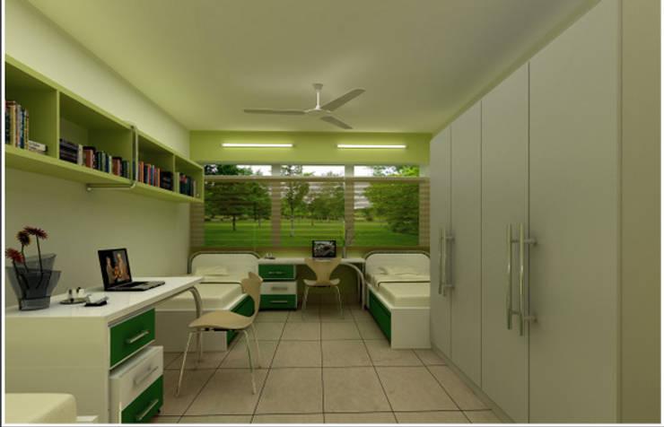 Symbiosis Project: modern Study/office by Saloni Narayankar Interiors