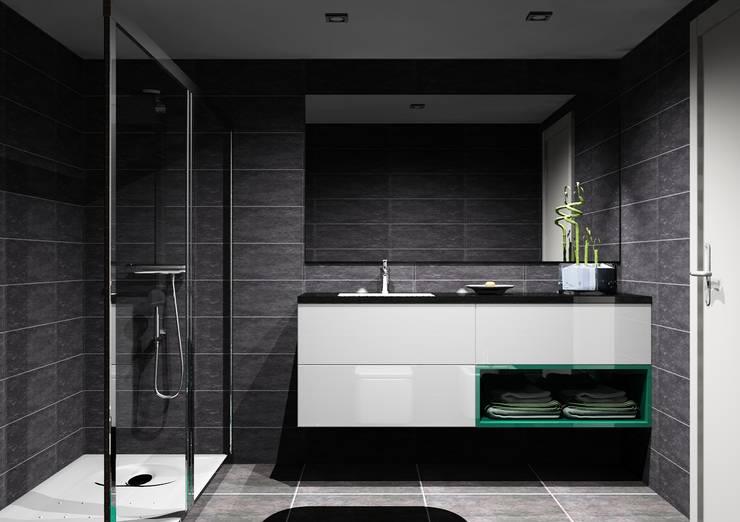 Baños de estilo  por Amplitude - Mobiliário lda