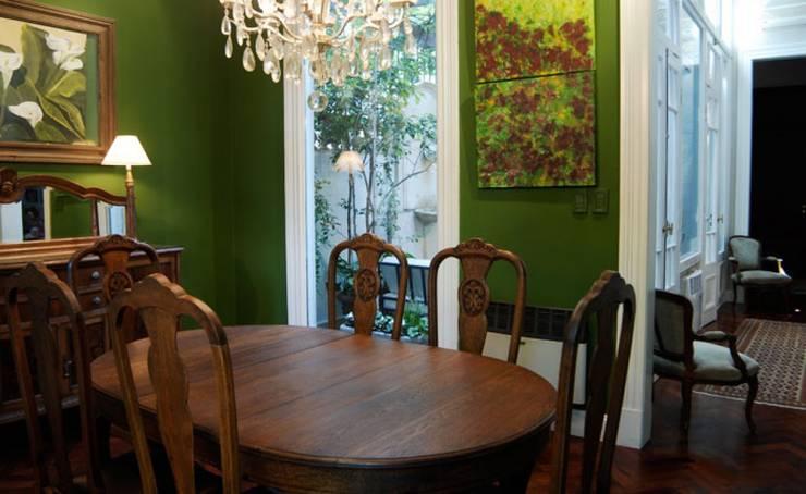 غرفة السفرة تنفيذ Radrizzani Rioja Arquitectos