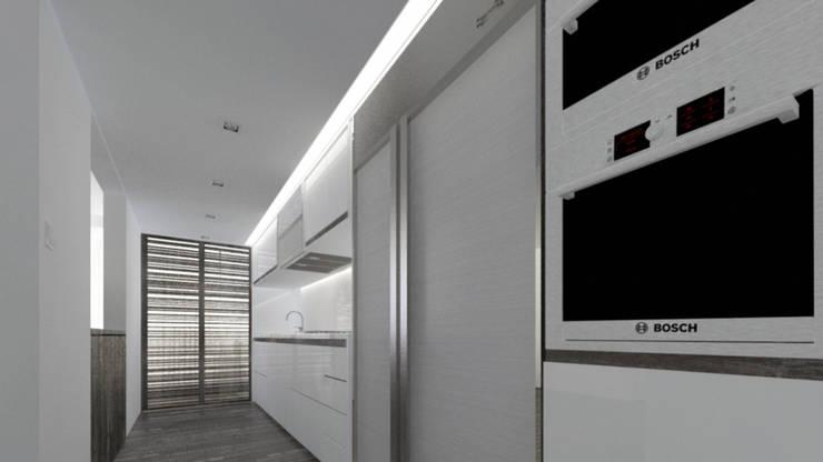 Cocina : Cocinas de estilo minimalista por Odart Graterol Arquitecto