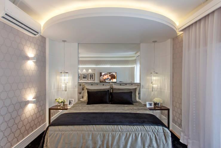 Спальни в . Автор – Arquiteto Aquiles Nícolas Kílaris