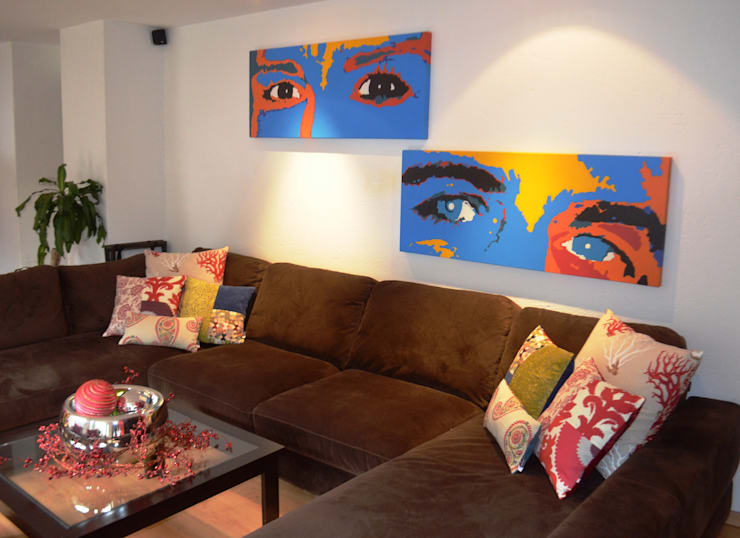 Living room by Sandra Molina,