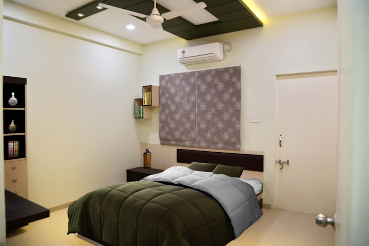 Master Bedroom: modern Bedroom by ZEAL Arch Designs