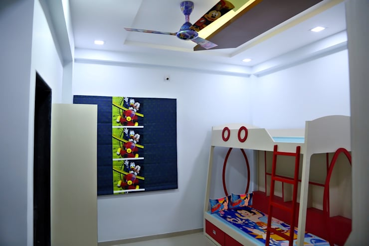 Kids Room: modern Nursery/kid's room by ZEAL Arch Designs