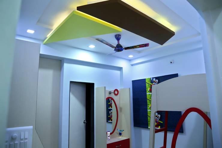 Kids Room:  Nursery/kid's room by ZEAL Arch Designs