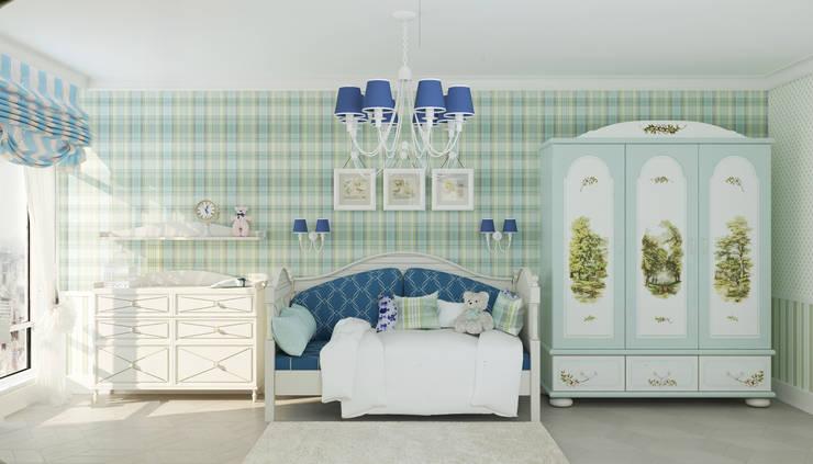 Детская комната для мальчика: Детские комнаты в . Автор – Студия дизайна Дарьи Одарюк,