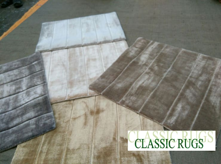 viscose silk Rugs:  Corridor, hallway & stairs  by Classic Rugs