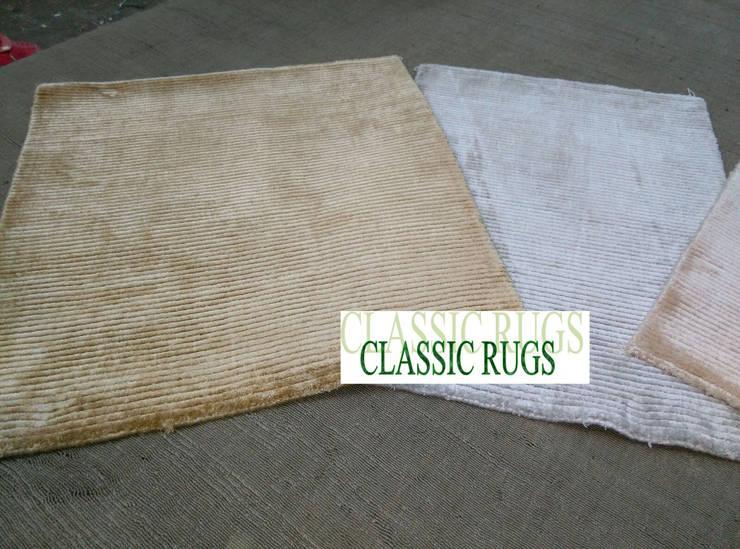 loop/cut silk Rug:  Walls & flooring by Classic Rugs