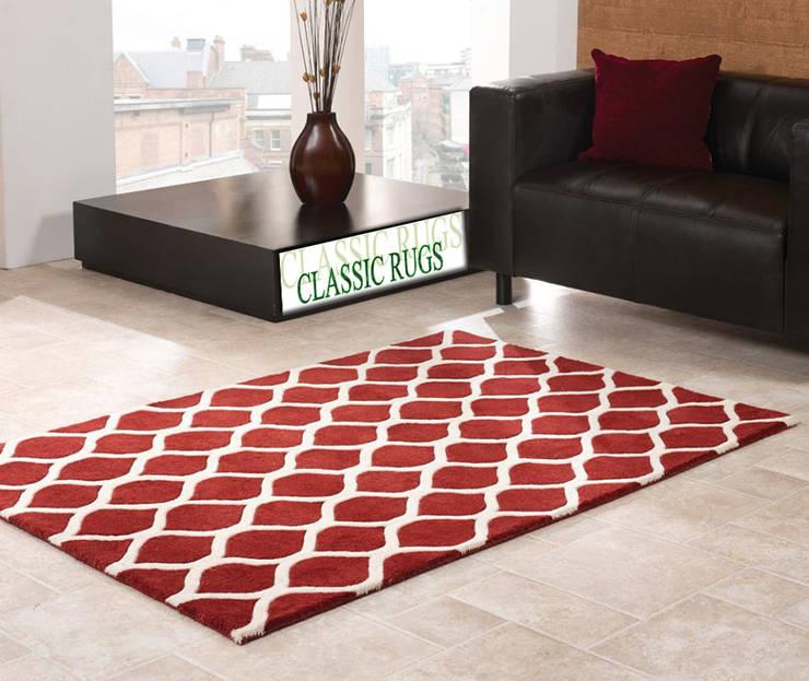 woollen  rugs:  Walls & flooring by Classic Rugs