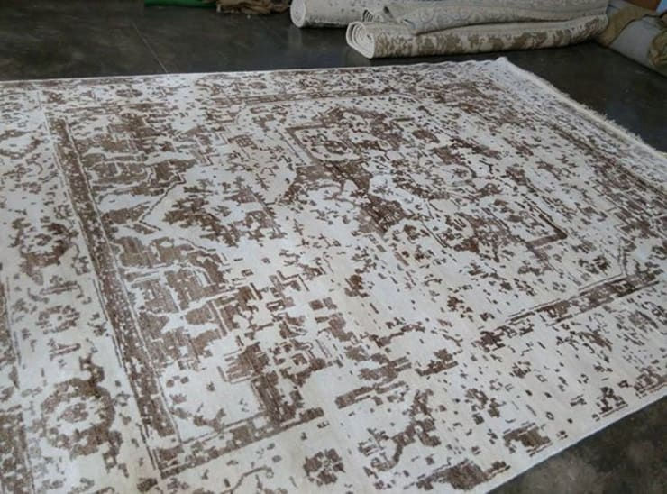 Bamboo silk Rugs:  Walls & flooring by Classic Rugs