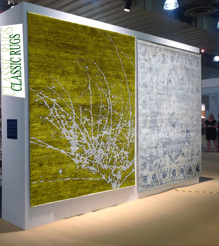 Indo Tibbetan Rug:  Walls & flooring by Classic Rugs
