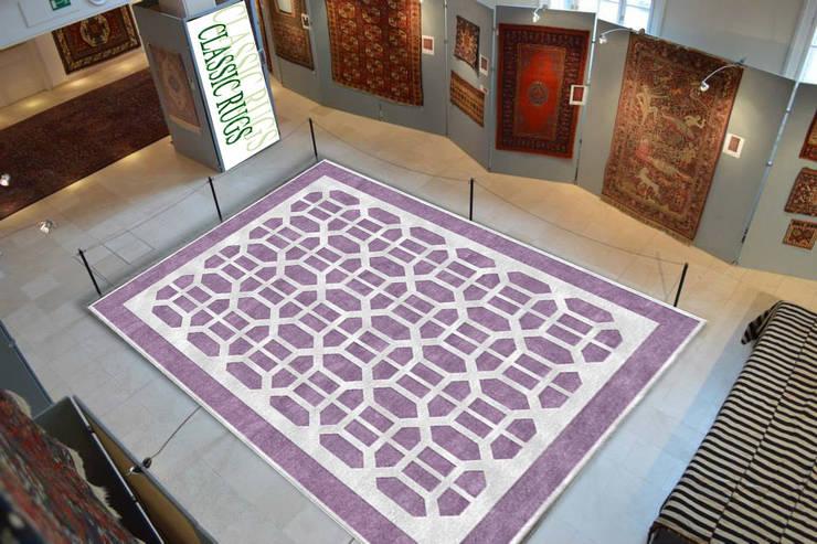 Indo Nepali silk Rug:  Walls & flooring by Classic Rugs