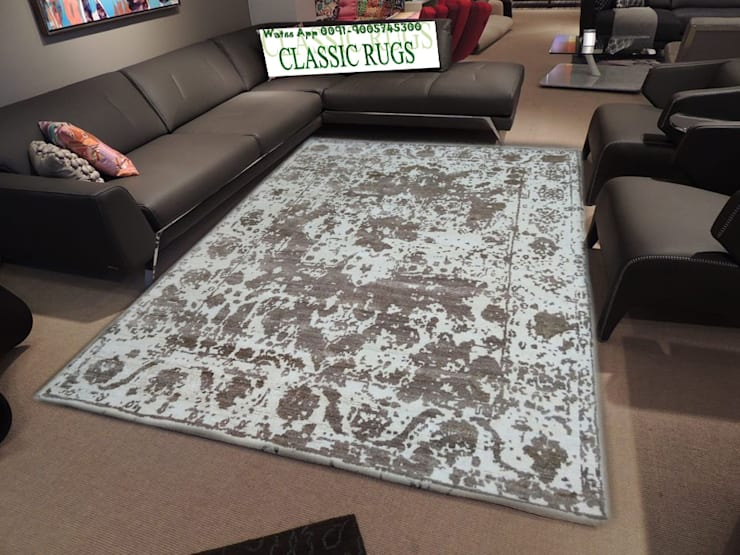 Bamboo silk Rug:  Walls & flooring by Classic Rugs