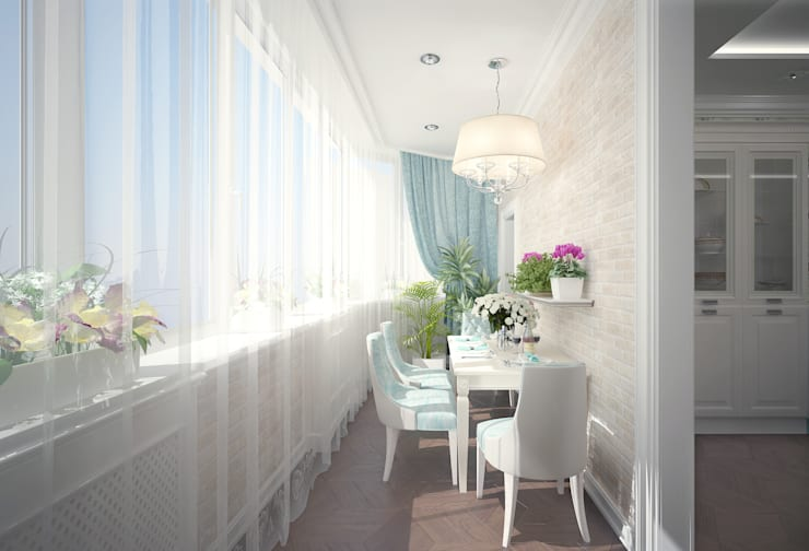 Кухня в стиле неоклассика vol.2 Кухня в классическом стиле от Студия дизайна Дарьи Одарюк Классический