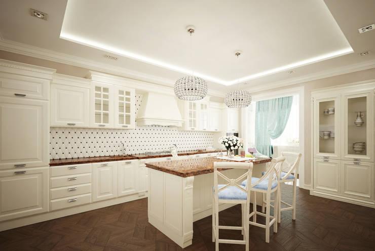 classic Kitchen by Студия дизайна Дарьи Одарюк