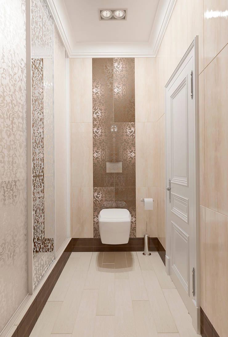 Приятная постирочная vol. 2: Ванные комнаты в . Автор – Студия дизайна Дарьи Одарюк, Классический