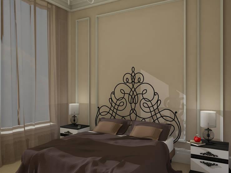 Американская история Спальня в эклектичном стиле от Студия Интерьерных Решений Десапт Эклектичный