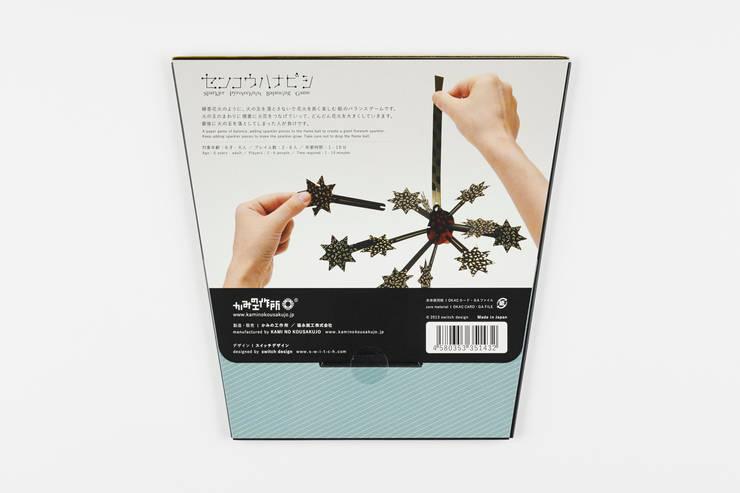 パッケージ ウラ面: switch designが手掛けた家庭用品です。,