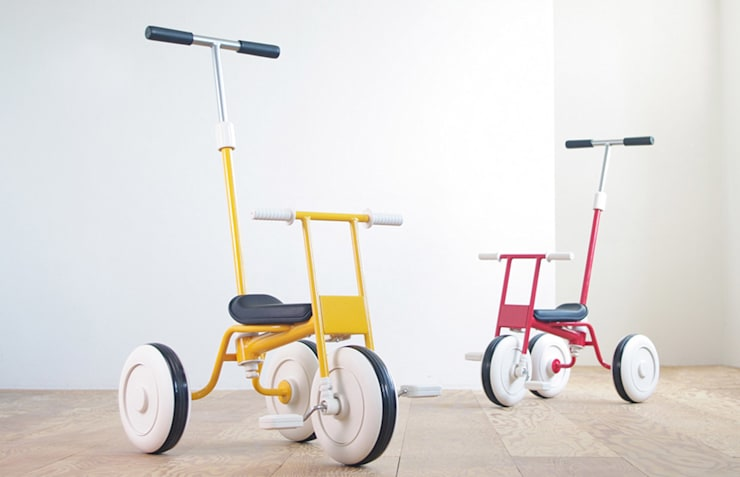 Tricycle - MUJI: miyake designが手掛けた子供部屋です。