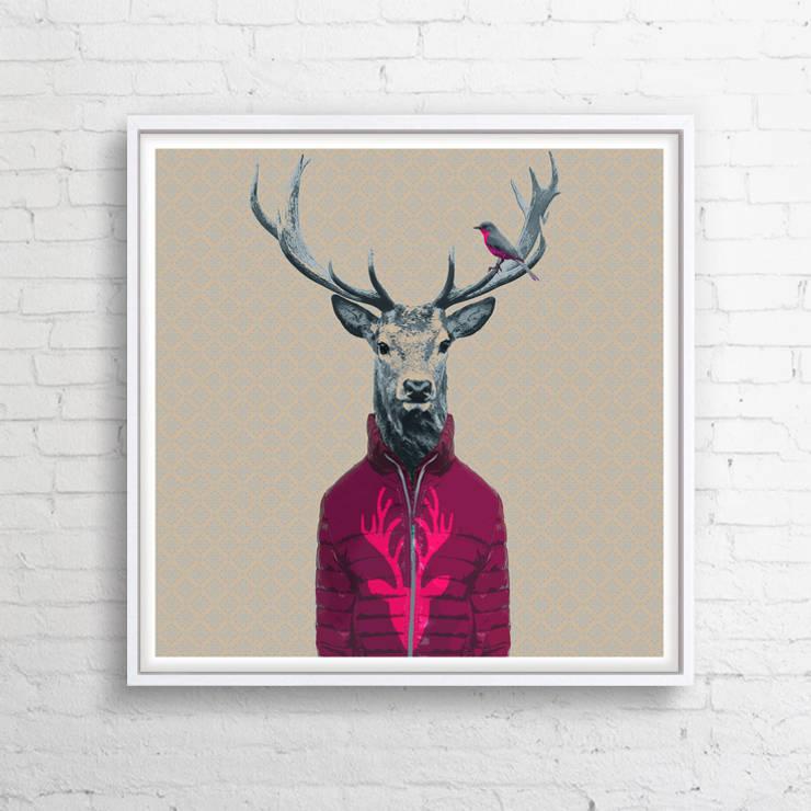 OBRAZ NA PŁÓTNIE 100x100 cm: styl , w kategorii  zaprojektowany przez KRZANOO ART' PRACOWNIA ARTYSTYCZNA,Rustykalny Drewno O efekcie drewna