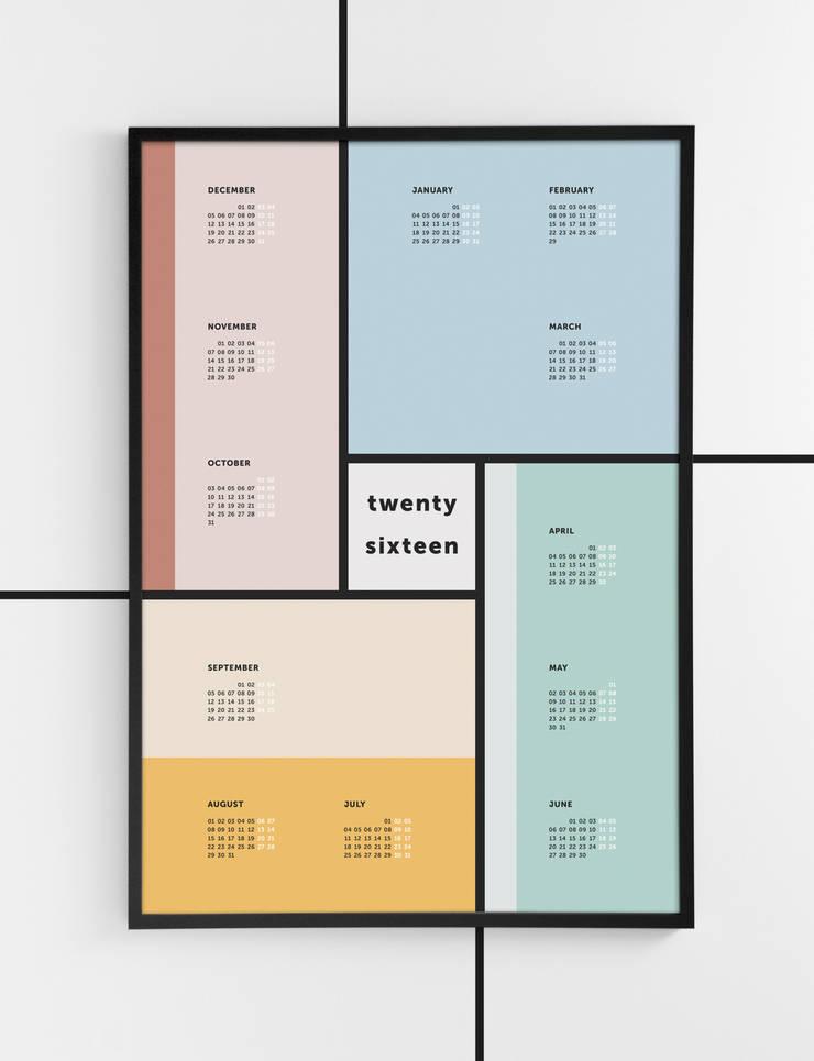 Twenty Sixteen: Escritórios e Espaços de trabalho  por Twelve Four Haus