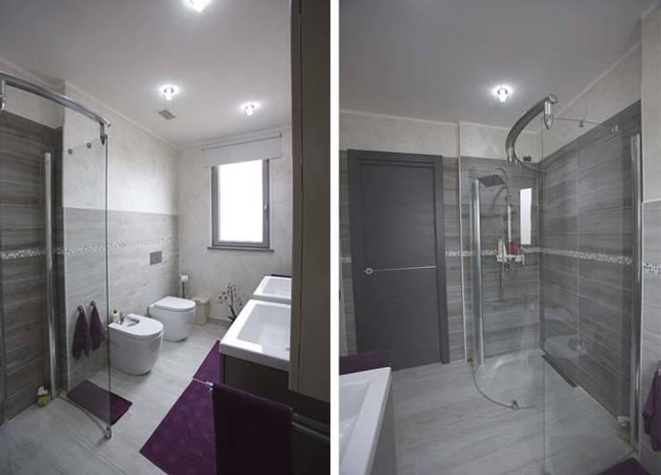 Bagno: Bagno in stile in stile Scandinavo di Elisabetta Goso >architect & 3d visualizer<