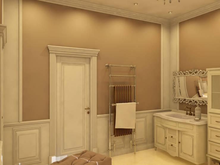 Классика жанра: Ванные комнаты в . Автор – Студия Интерьерных Решений Десапт , Классический