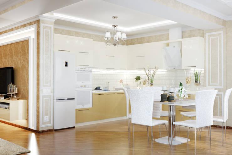 Cuisine de style  par Студия дизайна Interior Design IDEAS