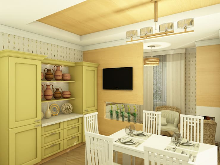 Village Style Кухня в стиле кантри от Студия Интерьерных Решений Десапт Кантри