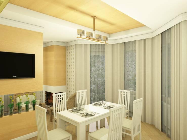 Village Style Гостиная в стиле кантри от Студия Интерьерных Решений Десапт Кантри