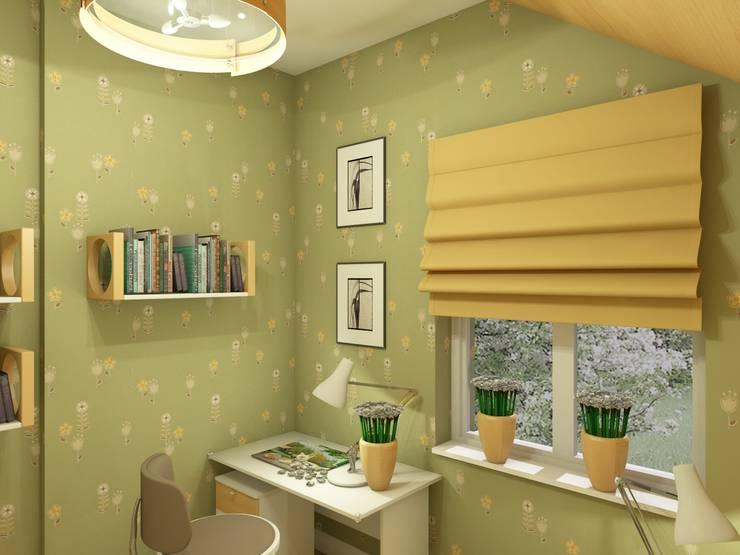 Village Style Детская комнатa в стиле кантри от Студия Интерьерных Решений Десапт Кантри