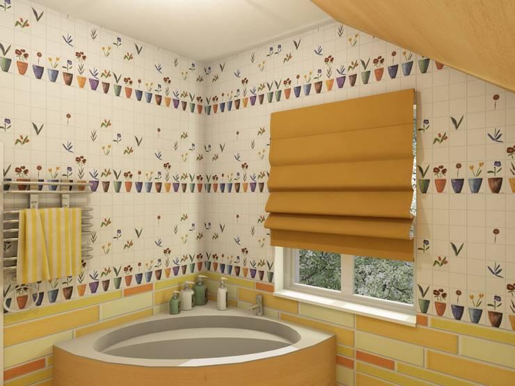 Студия Интерьерных Решений Десапт が手掛けた浴室