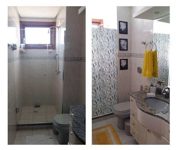 Banheiro Social:   por Graziela Alessio Arquitetura