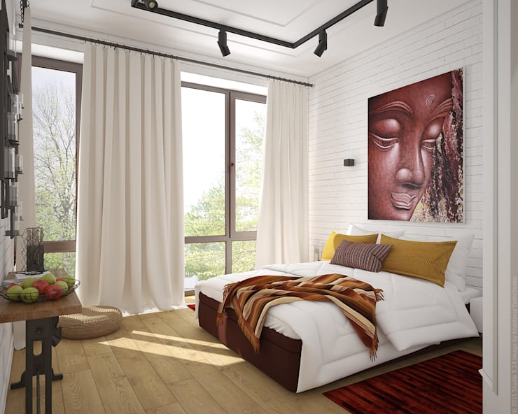Schlafzimmer von «Студия 3.14»