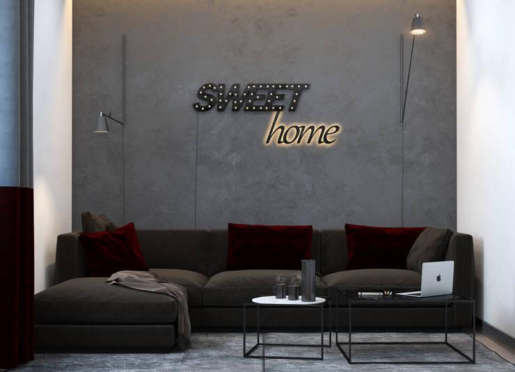 Relax room Медиа комната в стиле минимализм от VAE DESIGN GROUP™ Минимализм