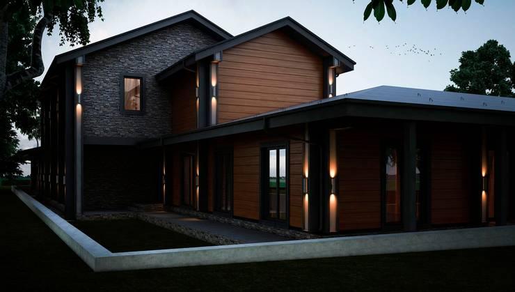 Проект дома в скандинавском стиле: Дома в . Автор – Way-Project Architecture & Design
