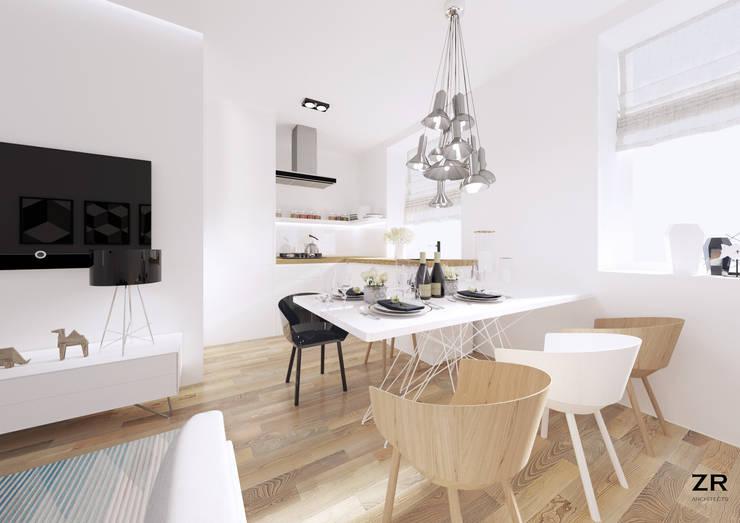 Alsemberg: Cuisine de style de style Moderne par ZR-architects