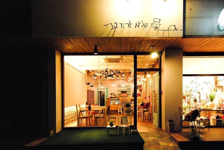 Asiatische Ladenflächen von THE JK Asiatisch