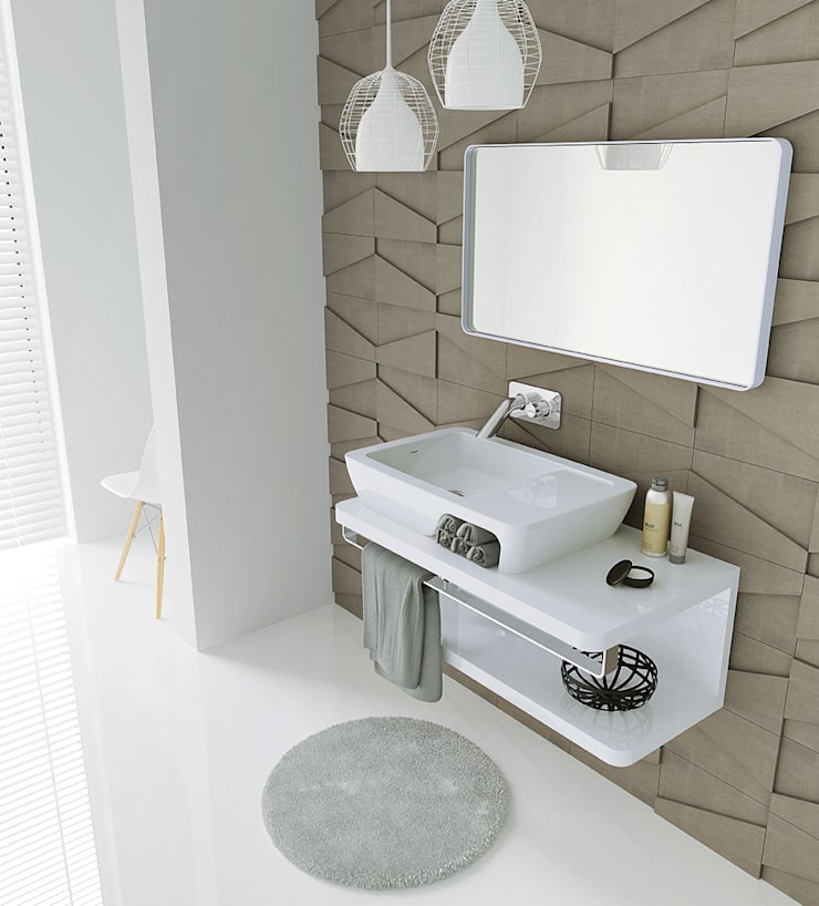 HI-DDEN: Casa de banho  por Melissa vilar