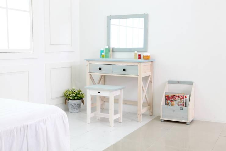 드레서: 파파브라운 의  침실