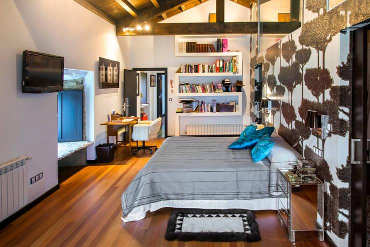 Projekty,  Sypialnia zaprojektowane przez Belén Sueiro
